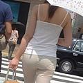 卡其褲內褲痕 210