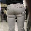 卡其褲內褲痕 214