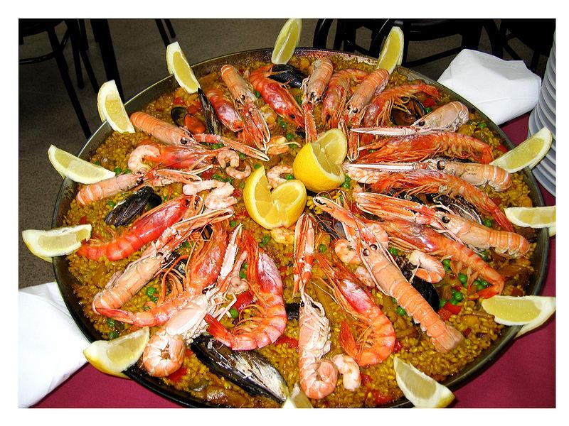 西班牙海鮮飯  Paella_de_marisco