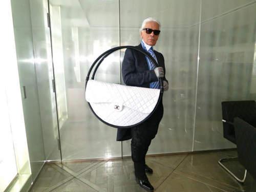 呼啦圈包  Karl Lagerfeld
