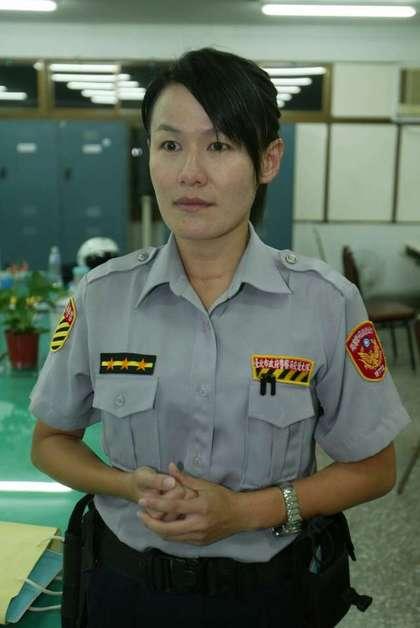 內湖交通分隊員警黃心妍