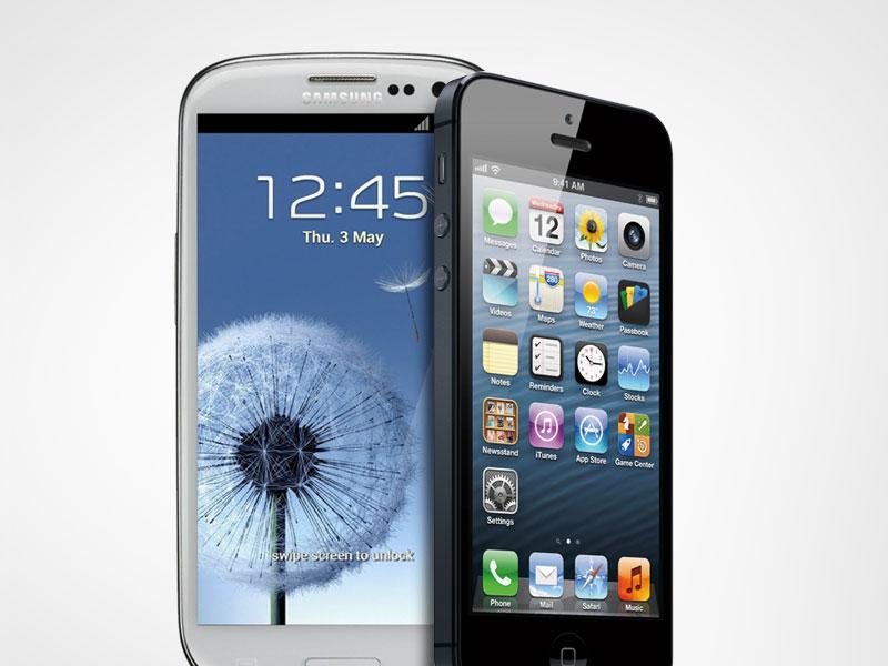 Apple iPhone 5 VS. Samsung GALAXY SIII