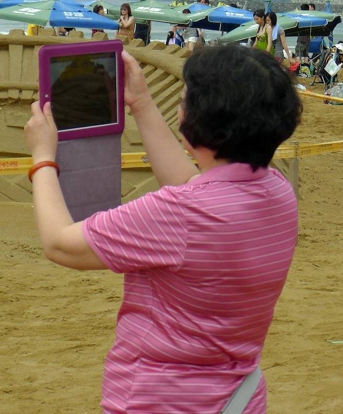 iPad 拍照