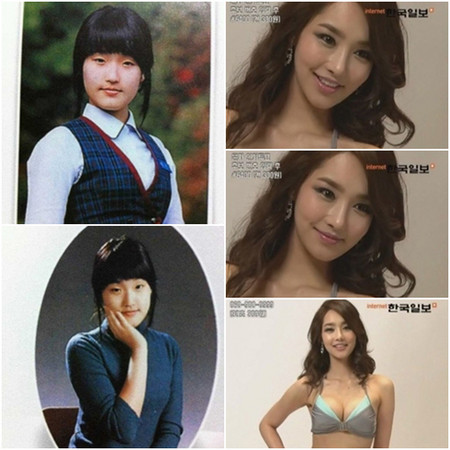 這小孩長大會成為韓國小姐