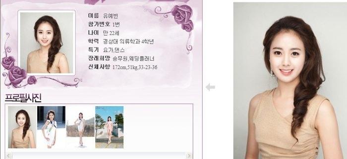 韓國小姐 2013 01