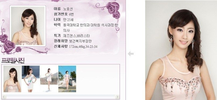 韓國小姐 2013 06