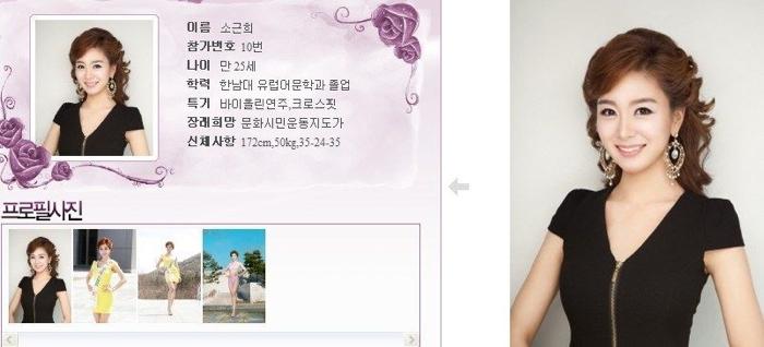 韓國小姐 2013 10