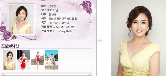 韓國小姐 2013 12