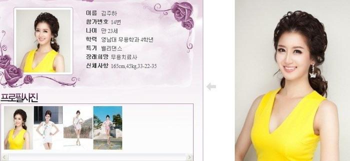 韓國小姐 2013 14