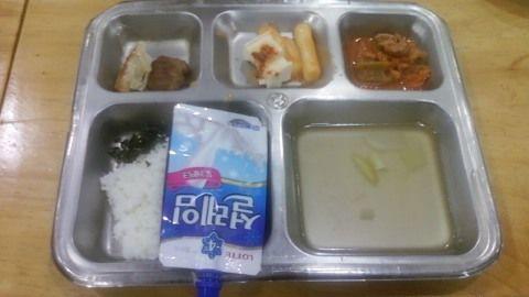 韓國公立高中營養午餐