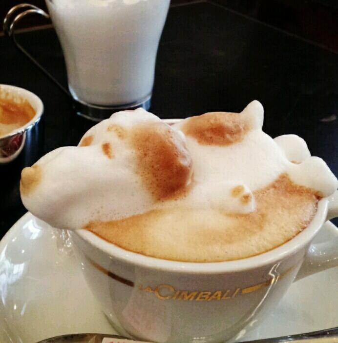 SNOOPY 3D咖啡拉花