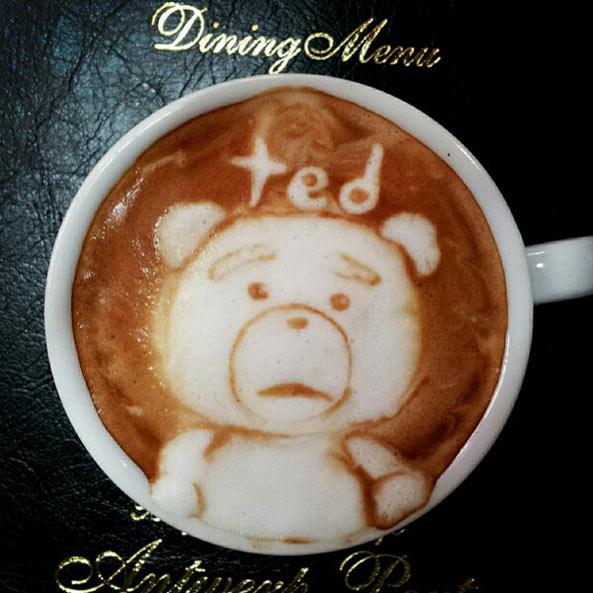 熊麻吉 咖啡拉花