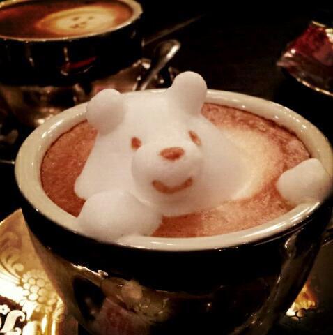 3D咖啡拉花:山本員揮的拿鐵藝術 03