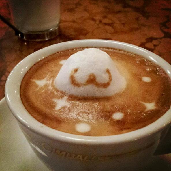 3D咖啡拉花:山本員揮的拿鐵藝術 04