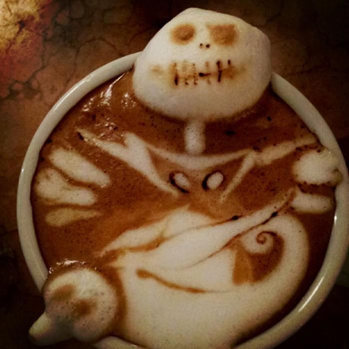 3D咖啡拉花:山本員揮的拿鐵藝術 05
