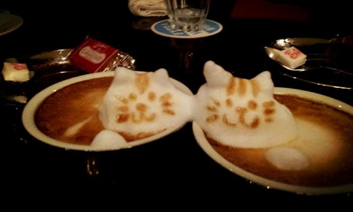 3D咖啡拉花:山本員揮的拿鐵藝術 07