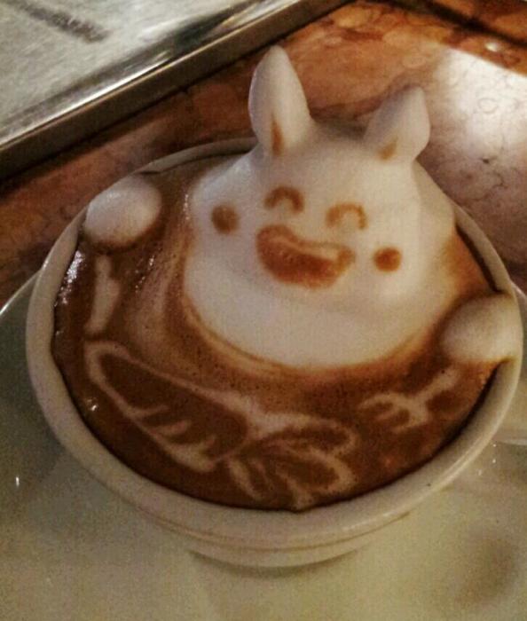 3D咖啡拉花:山本員揮的拿鐵藝術 10