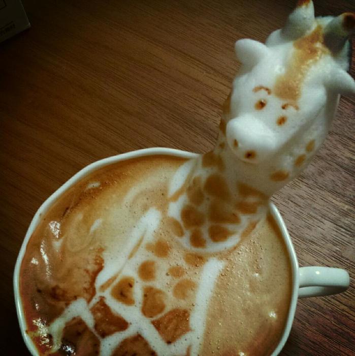 3D咖啡拉花:山本員揮的拿鐵藝術 11