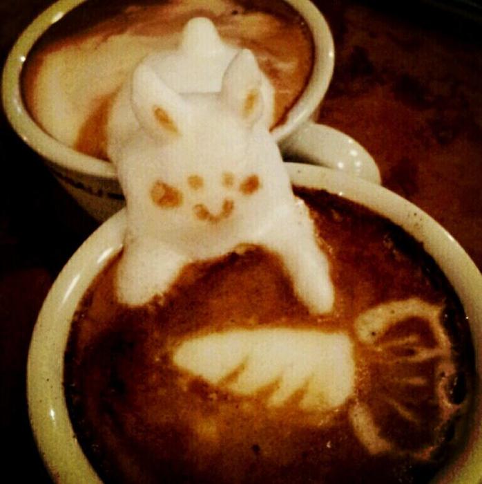 3D咖啡拉花:山本員揮的拿鐵藝術 12