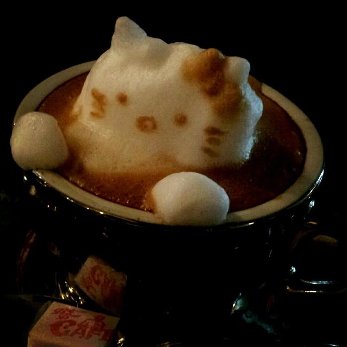 3D咖啡拉花:山本員揮的拿鐵藝術 15