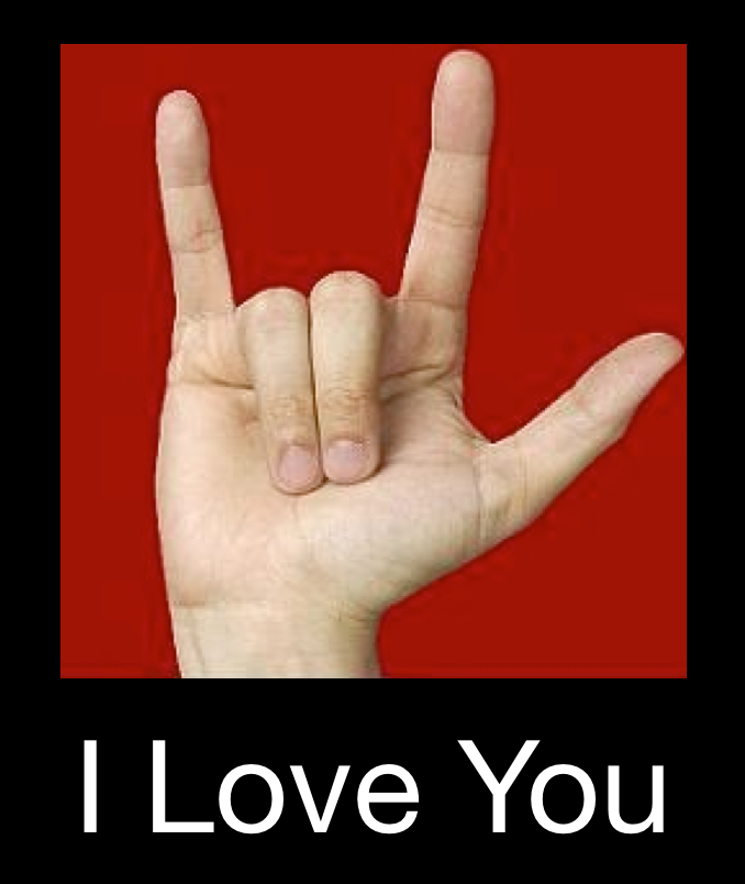 LINE的貼圖密碼 I Love You