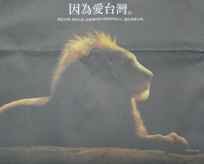 獅子愛台灣