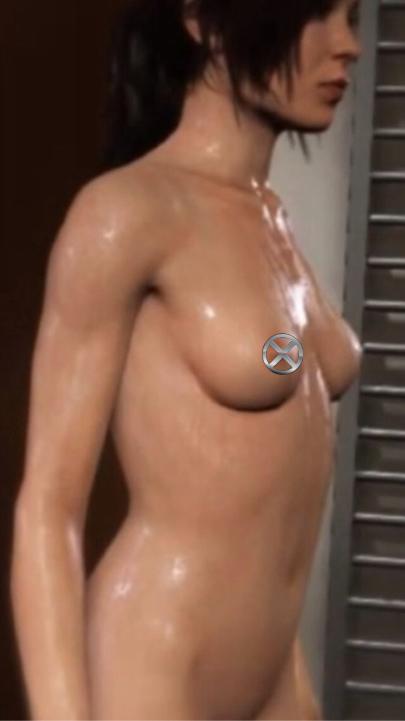 《超能殺機:兩個靈魂》女主角全裸露點浴照