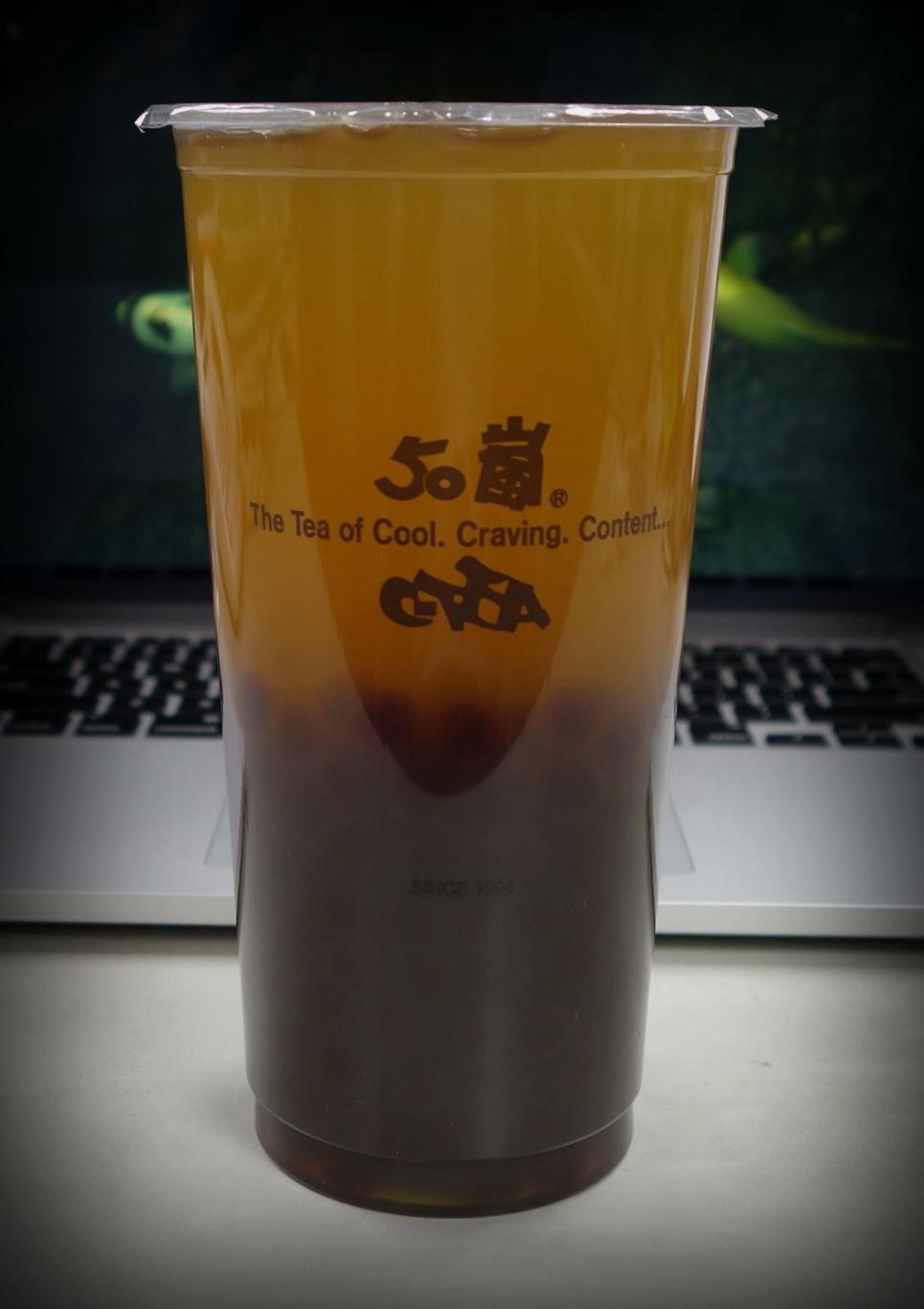 50嵐 波霸文山清茶
