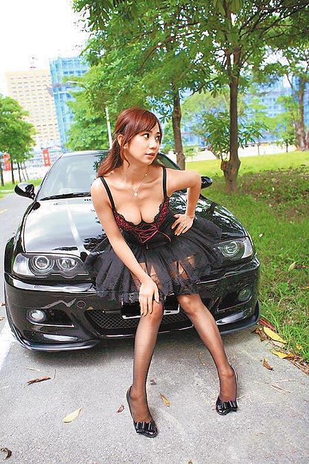 安小蕎 BMW 寶馬女