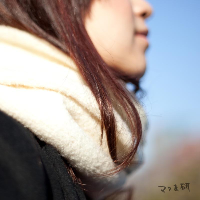 垂櫻 圍毛女子