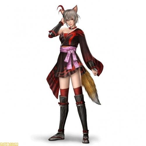 呂玲綺 狐女服裝版