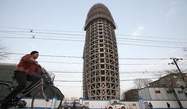 北京 人民日報社 新大樓