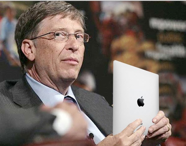 Bill Gates iPad