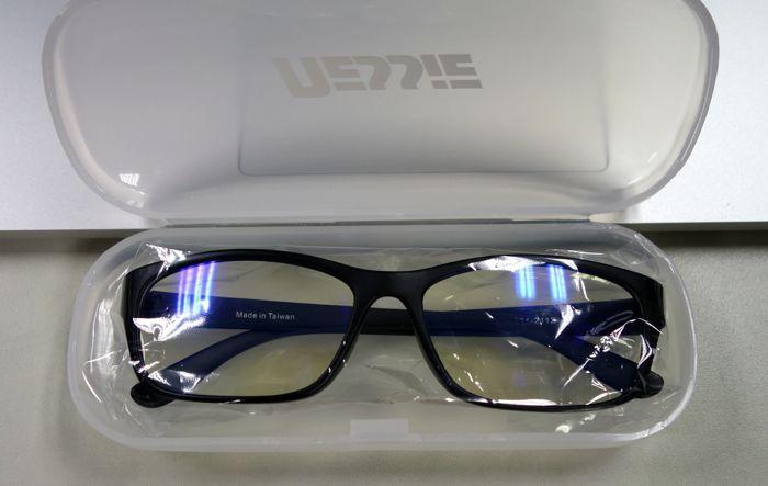 防爆破濾藍光眼鏡