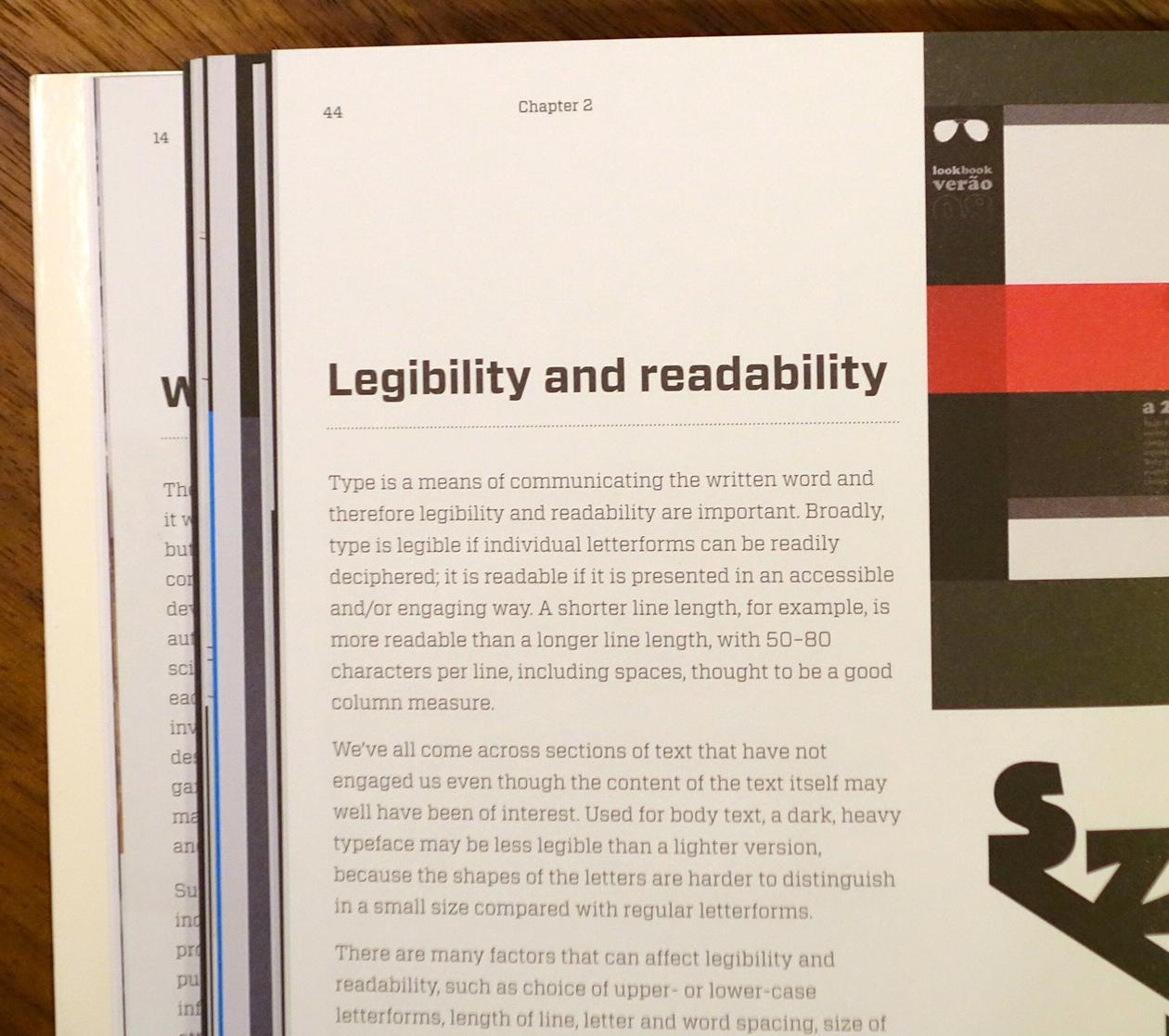 「易識性」(legibility) 「易讀性」(readability)