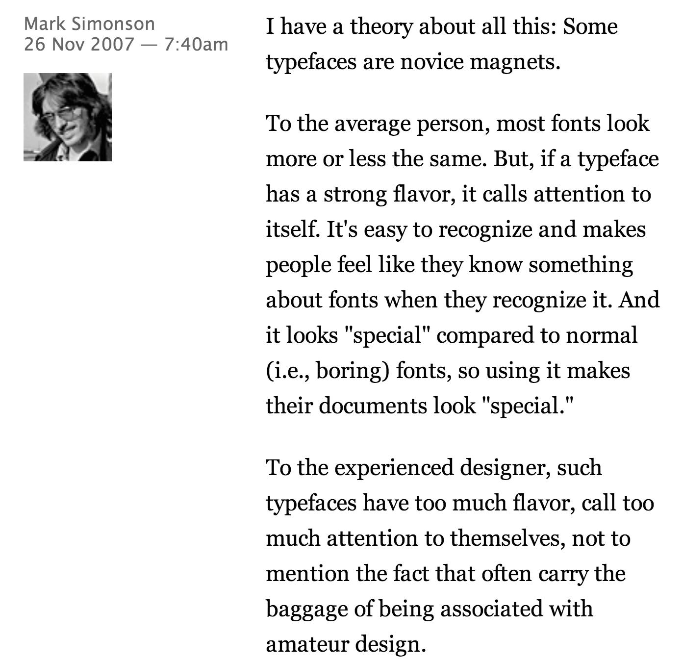 novice magnets Mark Simonson
