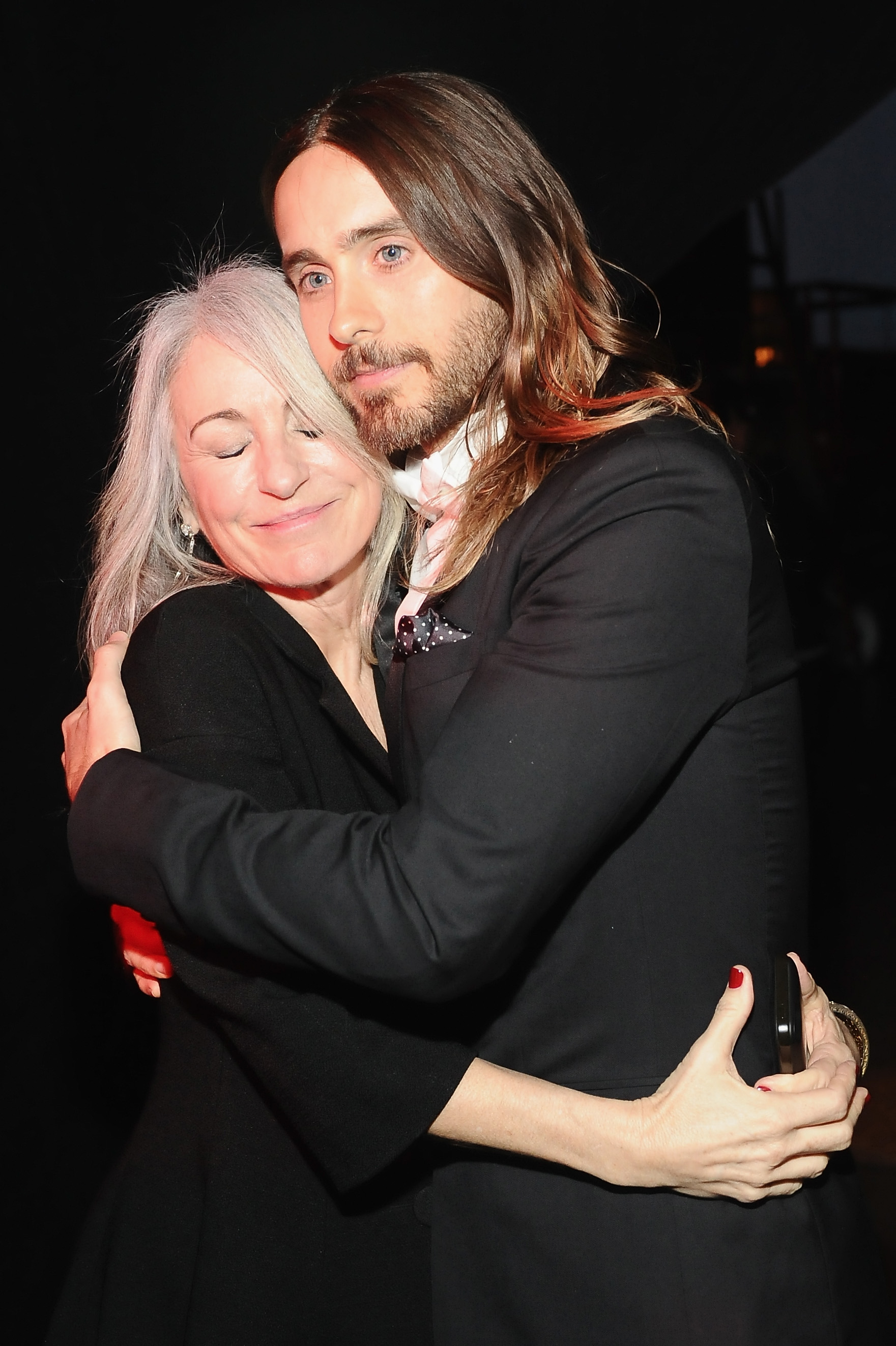 Jared Leto 與母親 Constance Leto