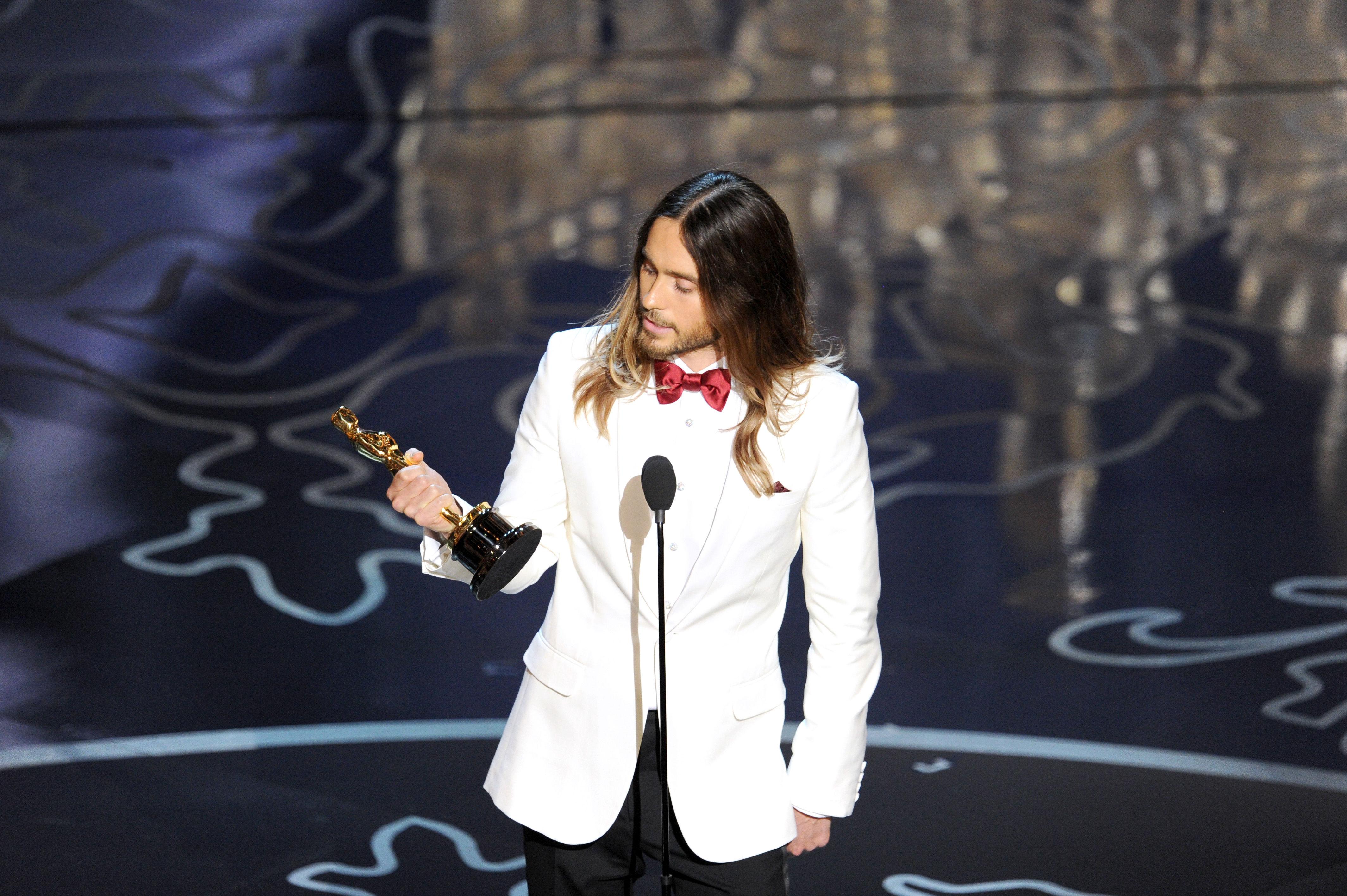 Jared Leto 奧斯卡頒獎典禮