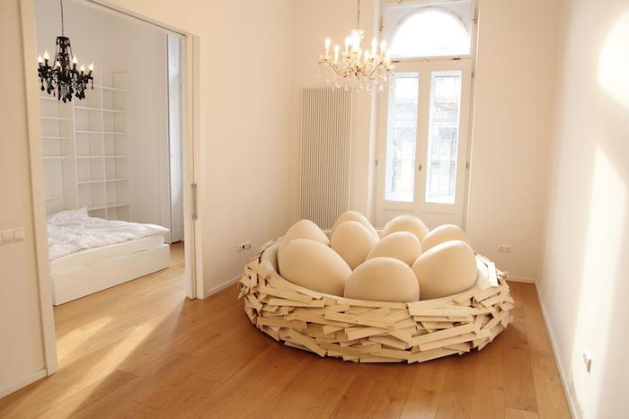 在家孵蛋專用鳥巢