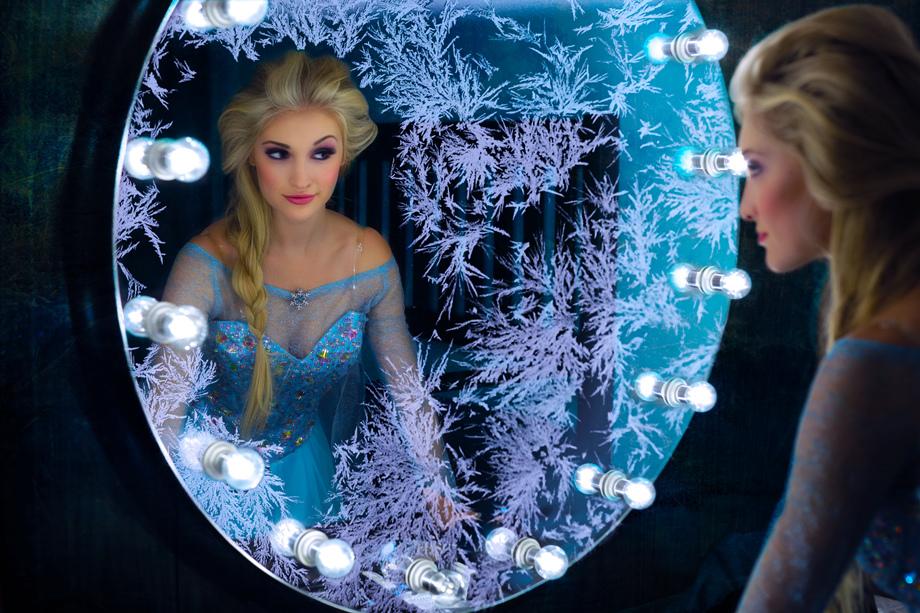 真人版冰雪奇緣艾莎公主 Anna Faith