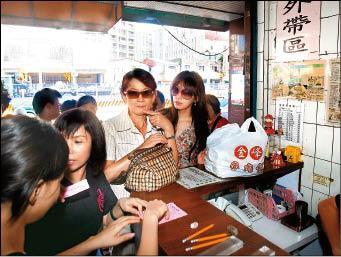 林志玲抗稅禁奢 魯肉飯果腹