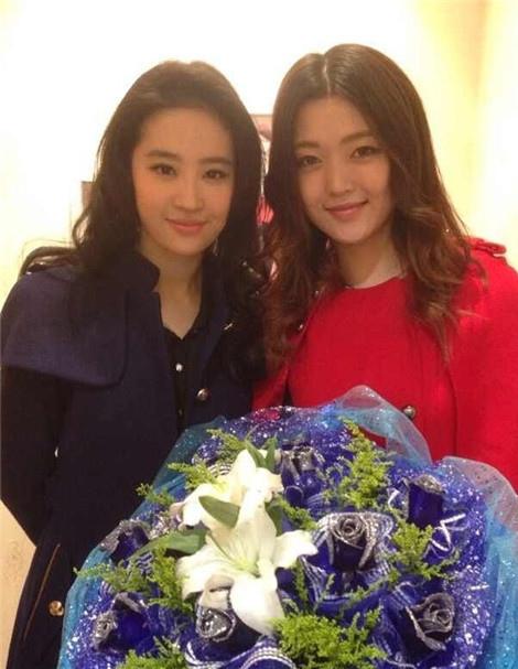 劉亦菲 表姐