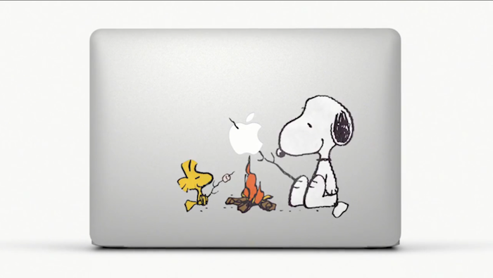 MacBook Air 彩貼 SNOOPY