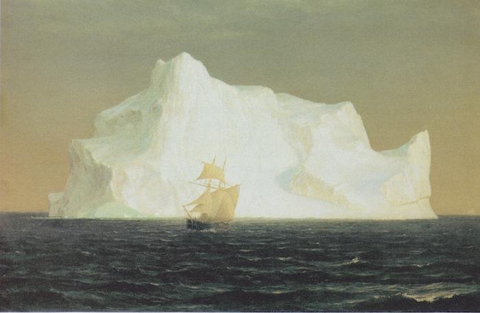 邱爾吉 Frederic Edwin Church Der Eisberg 冰山