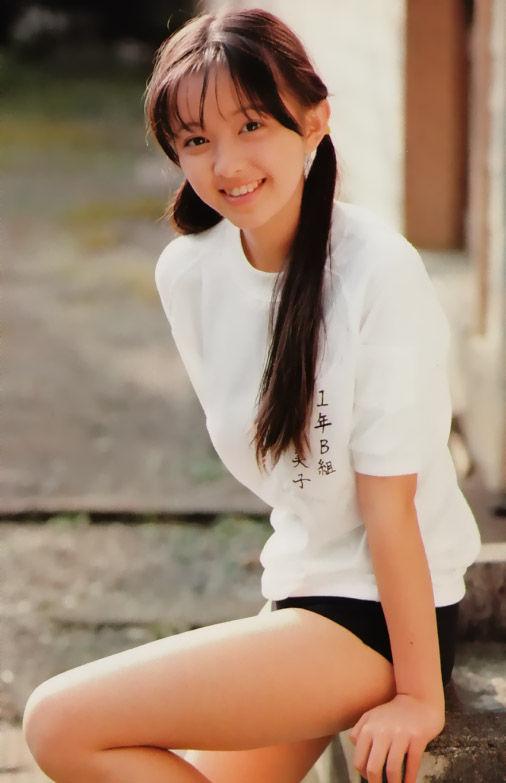 高橋由美子 13歳