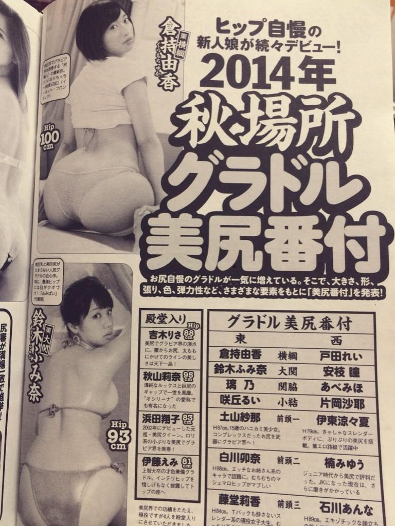 八大美尻 週刊Playboy