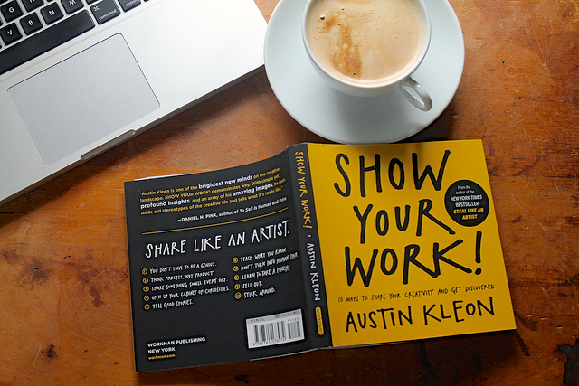 點子就要秀出來 Show Your Work!