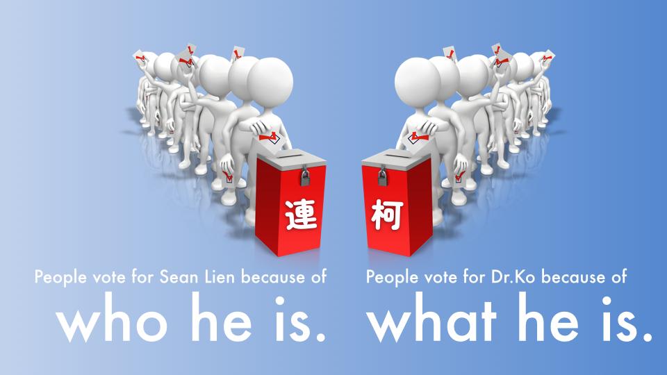一句話讓外國朋友了解台北市長選舉