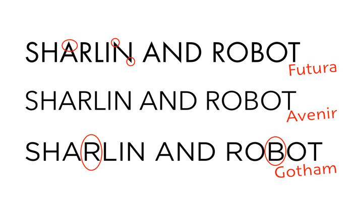 幾何無襯線字體 Geometric Sans