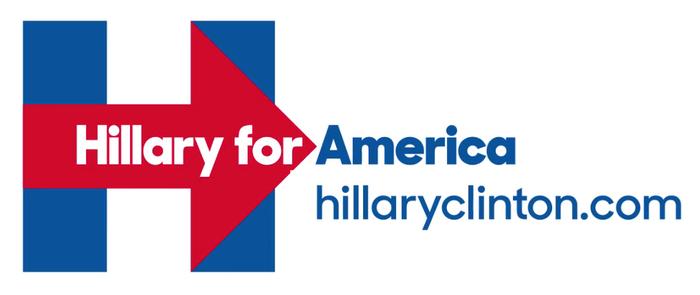 希拉蕊的競選Logo  Hillary Clinton